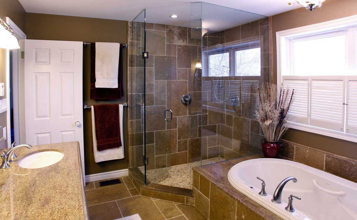 Bathrooms schnarr craftsmen - How to layout a bathroom remodel ...